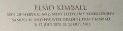 Elmo Kimball