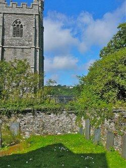 Lanherne Carmelite Burial Ground
