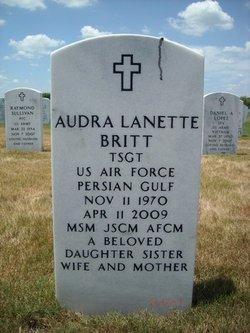 TSGT Audra Lanette <I>Lee</I> Britt