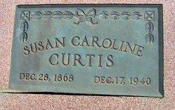 Susan Caroline <I>Landon</I> Curtis