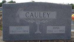 Anna Emma <I>Jacoby</I> Cauley