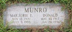 Marjorie Emma <I>Gannon</I> Munro