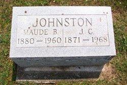 Maude B <I>Brannen</I> Johnston