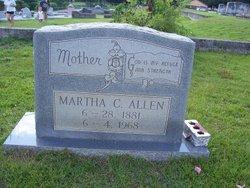 Martha C Allen