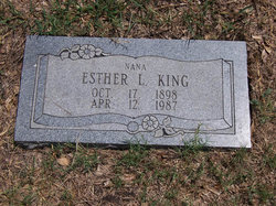 Esther Lorena <I>Ingram</I> King
