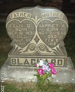 Harriet Ann <I>Pearce</I> Blackard
