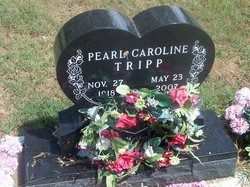 Pearl Caroline <I>Casey</I> Tripp