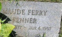 """Luella Maude """"Maude"""" <I>Ferry</I> Fenner"""