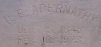 Charles Edgar Abernathy
