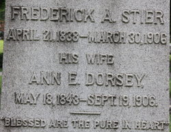 Ann Eliza <I>Dorsey</I> Stier