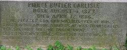 Pierce Butler Carlisle