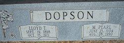 Lloyd Thomas Dopson