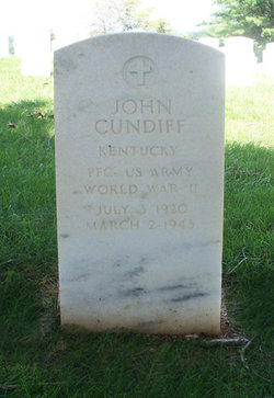 PFC John Cundiff