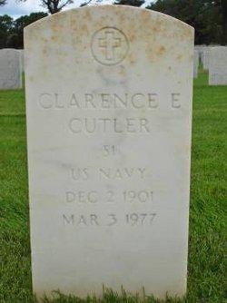 Clarence E Cutler