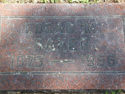 Edgar M Baker
