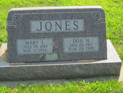 "Donald Harvey ""Don"" Jones"
