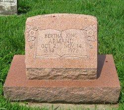 Bertha <I>King</I> Armand