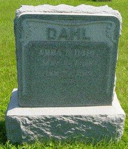 Anna P <I>Plummer</I> Dahl