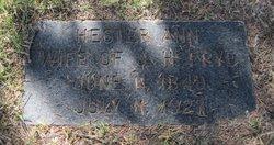"""Hester Ann """"Hetty"""" <I>Greenawalt</I> Frye"""