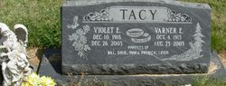 Violet E <I>Parrish</I> Tacy