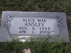 Alice Mae Ansley