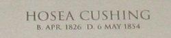Hosea Cushing