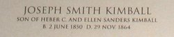 Joseph Smith Kimball