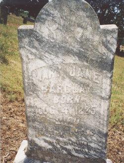 Mary Jane <I>Enloe</I> Barclay