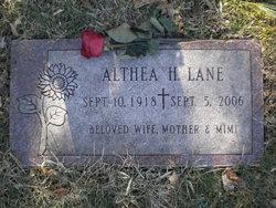 Althea H. Lane