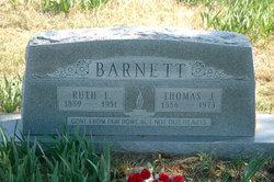 Ruth E. <I>Byrd</I> Barnett