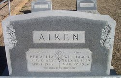 Permelia Ann <I>Hightower</I> Aiken