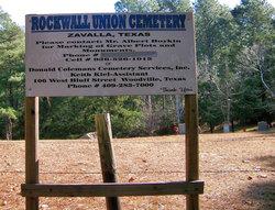 Rockwall Union Cemetery