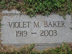 Violet <I>Ward</I> Baker