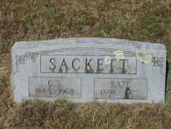 "Frances Arcadia ""Kate"" <I>Armstreet</I> Sackett"