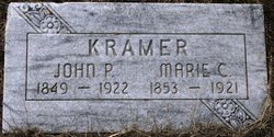 Marie Catherina <I>Kaiser</I> Kramer