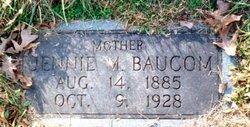 """Armetta Jane """"Jennie"""" <I>Medlin</I> Baucom"""