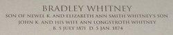 Bradley Whitney