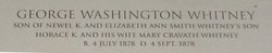 George Washington Whitney