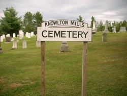 Knowlton Mills Cemetery