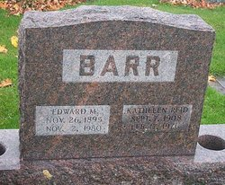 Kathleen <I>Reid</I> Barr
