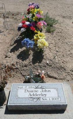 Duane John Adderley