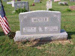 Myrtle L. <I>Hufford</I> Moyer