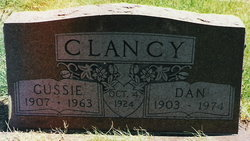 Gussie Mabel <I>Lowrance</I> Clancy