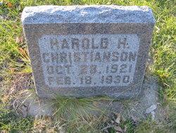 Harold Harding Christianson