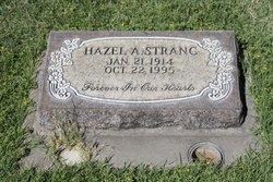 Hazel A <I>Shuman</I> Strang