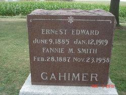 Fannie Mabel <I>Smith</I> Gahimer