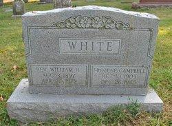 Rev William H White