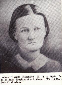 Evalina Stone <I>Gossett</I> Murchison