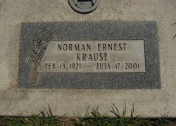 Norman Ernest Krause