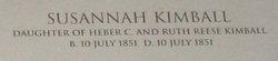 Susannah R. Kimball